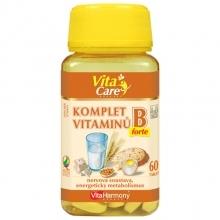 KOMPLET VITAMÍNŮ B FORTE  60tablet VitaHarmony
