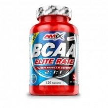BCAA ELITE RATE 500 kapslí Amix