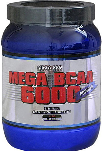 MEGA BCAA 6000 POWDER 454g Mega-Pro