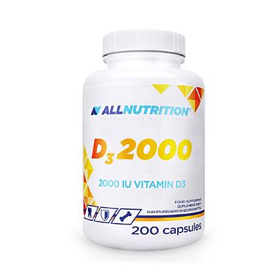 D3 2000  200kapslí All Nutrition